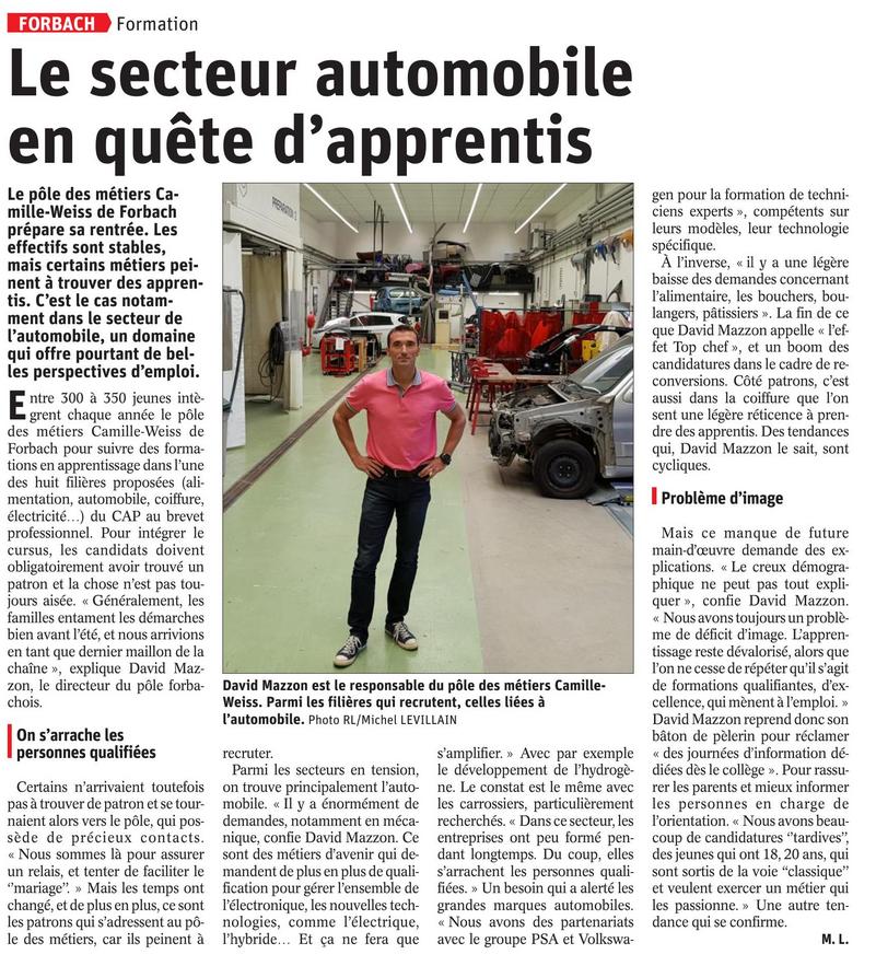 Le Republicain Lorrain Edition Forbach Cma 57