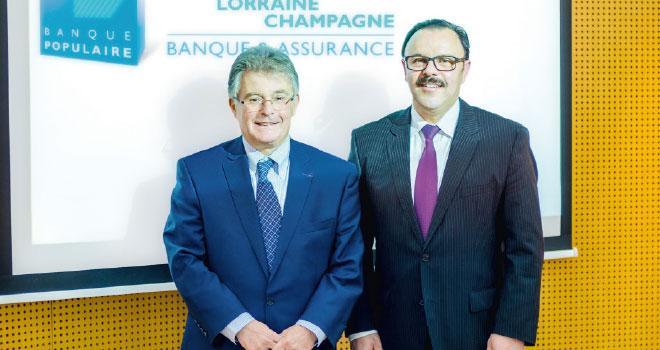 Dominique Wein et Thierry Cahn.