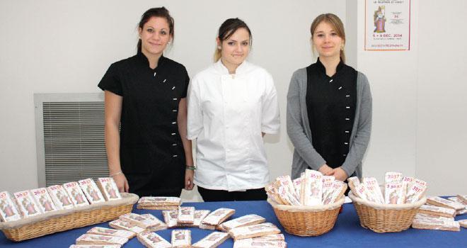 5000 Saint-Nicolas en pain d'épices ont été fabriqués par les CFA de la CMA 57.